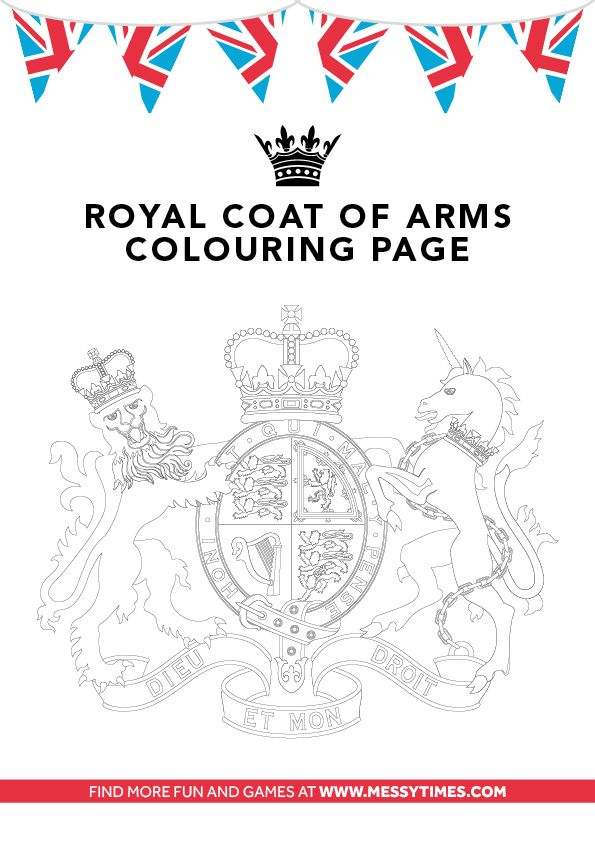 Coat of Arms Colouring Diamond