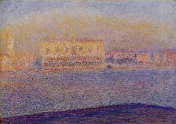 The Doges' Palace Seen from San Giorgio Maggiore, Venice, 1908 by ...