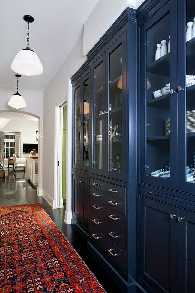 Best Farrow And Ball Downpipe Navy Cabinet Paint Color Farrow 400 x 300