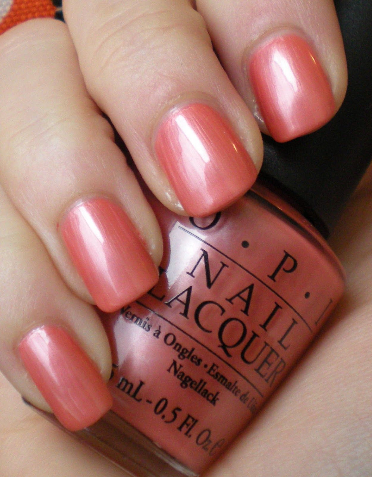 OPI: Melon of Troy Just bought this and I love it!   Nailed it ...