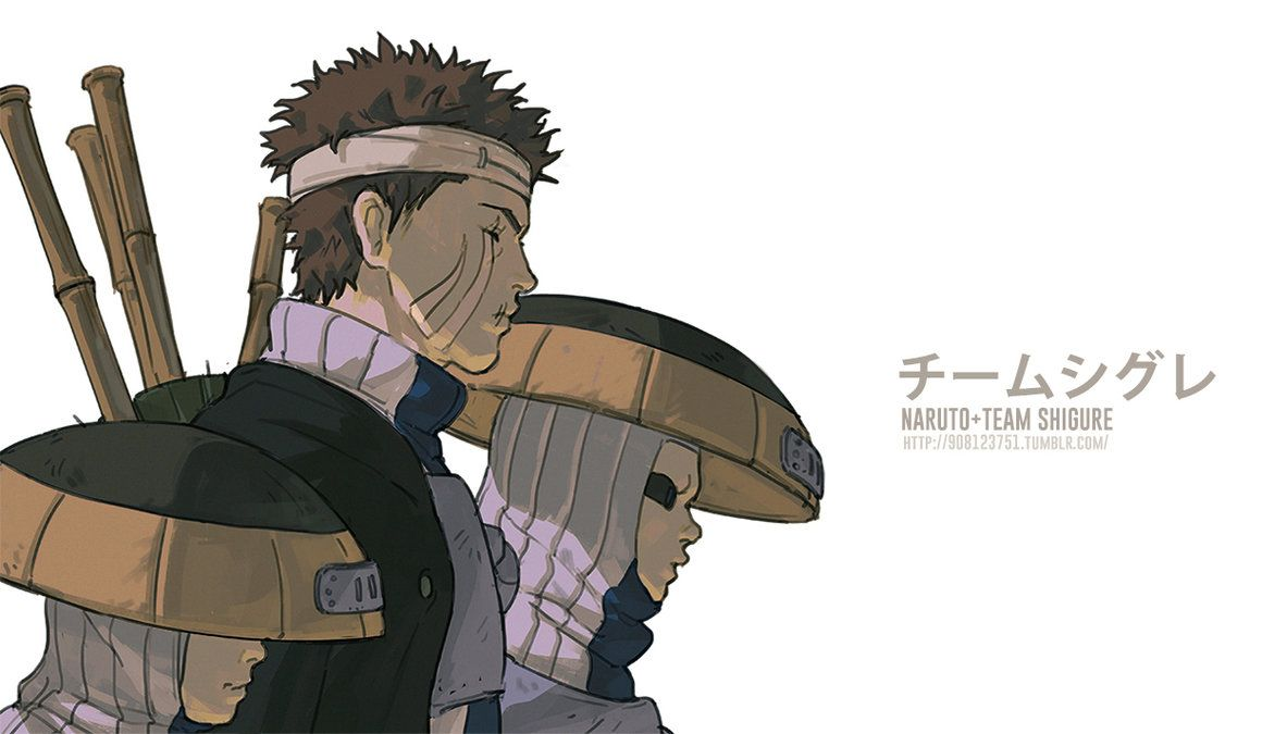 NARUTO- Team Shigure by fisher903 | Naruto teams, Naruto ...