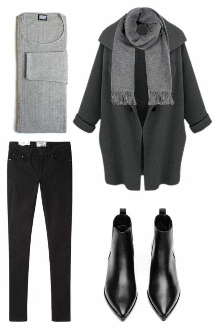 So kombinieren Sie Stiefeletten richtig - 30 Styling-Tipps #minimalclothing