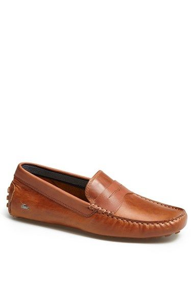 2d15a954d Lacoste  Concours 9  Driving Shoe available at  Nordstrom