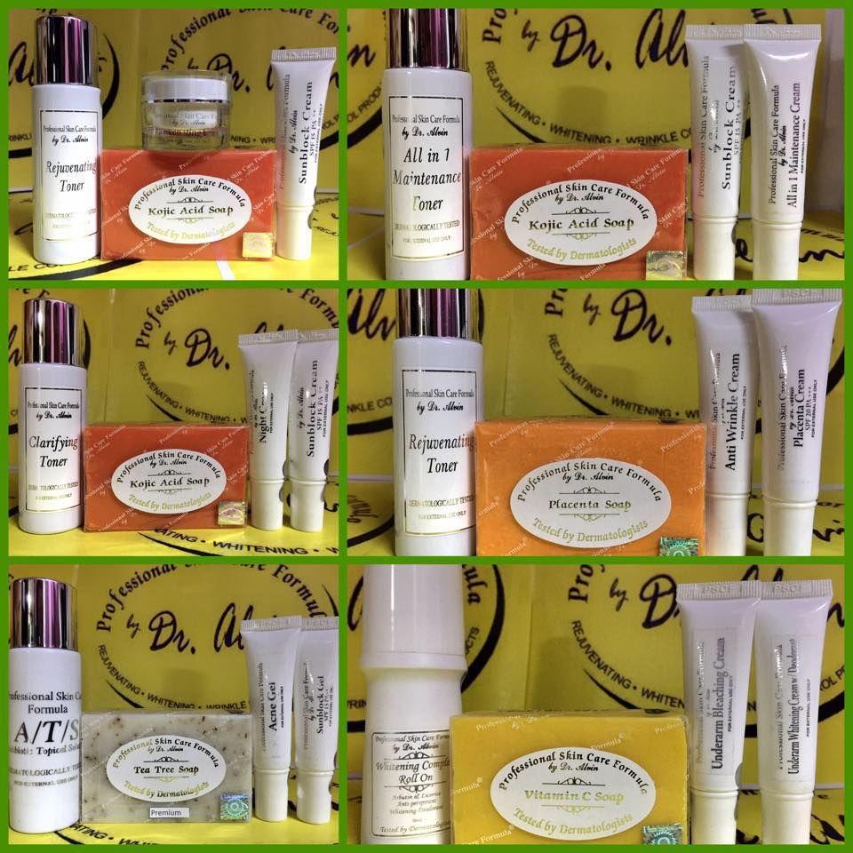 Dr Alvin Professional Skin Care Formula Professional Skin Care Products Skin Care Care