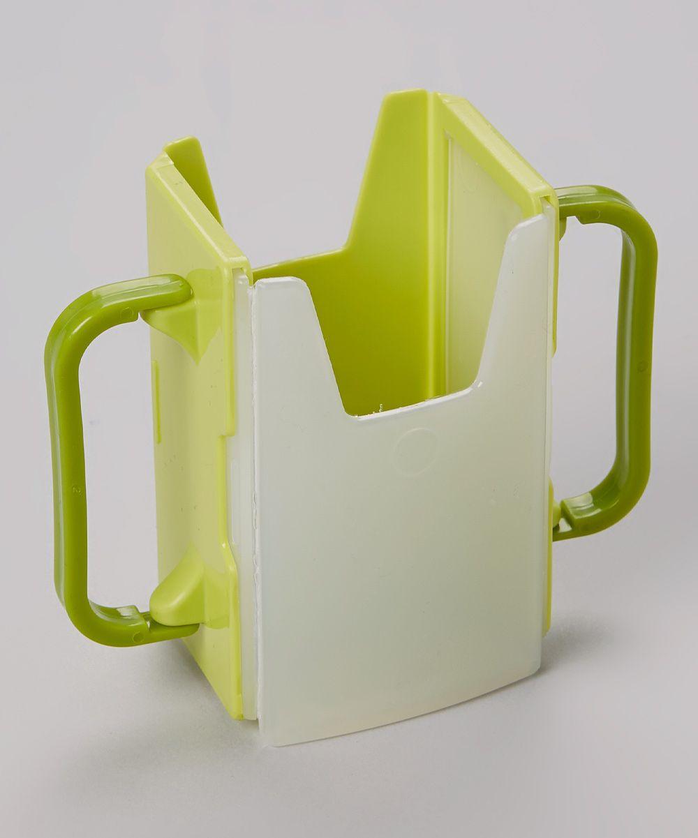 Green Adjustable Juice Box Holder | Juice boxes