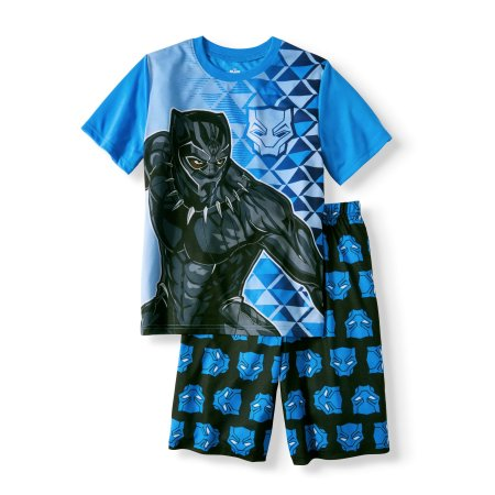 Black Panther Boys/' 2-Piece Shorts Set Outfit