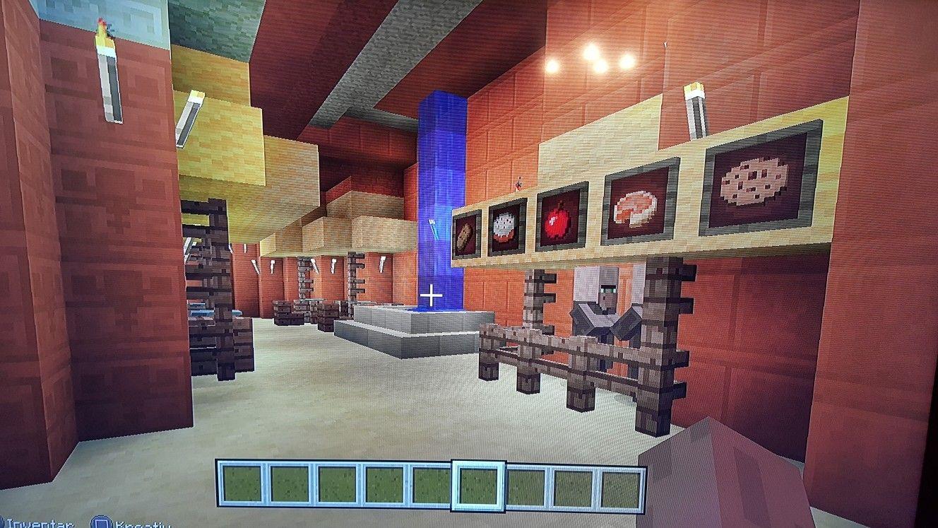 Minecraft Restaurant | Minecraft architecture, Minecraft ...