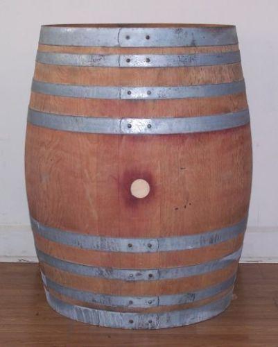 Once Used Retired Oak Wine Barrel Aunt Mollys Barrels Pinterest