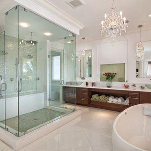 Open & beautiful bathroom