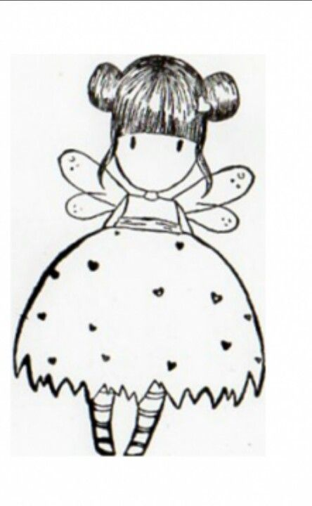 Gorjuss Santoro Stamps clipart and coloring pages - Google Search ... | 720x444