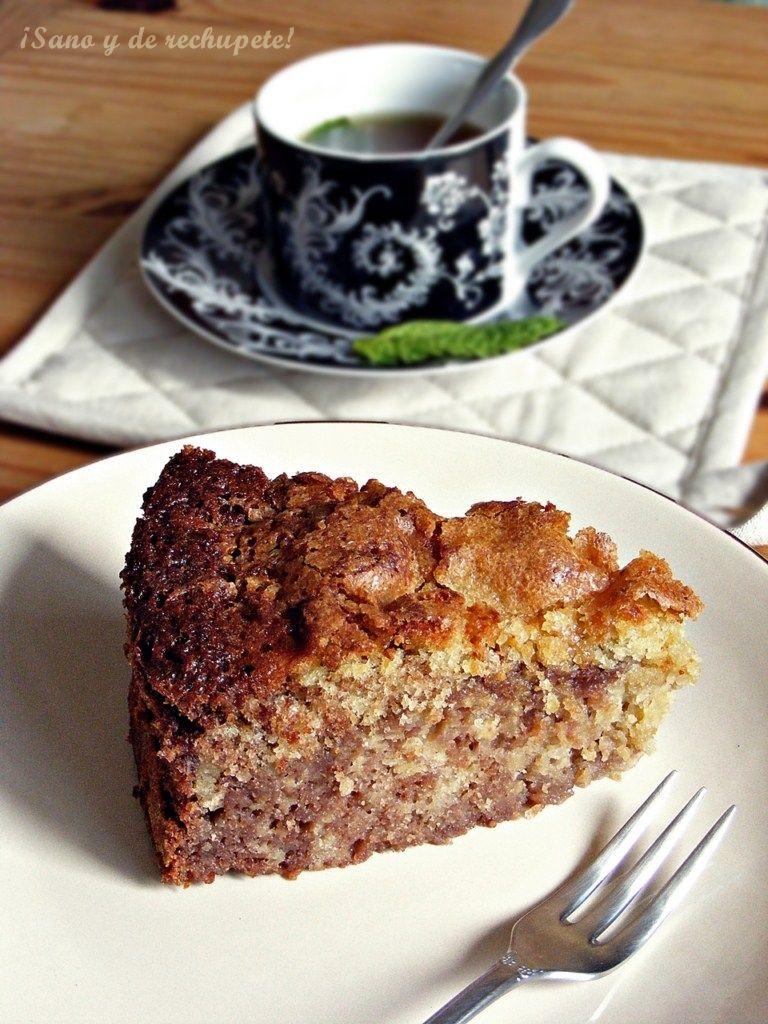 Laube Leal | Pastel de manzana y chocolate