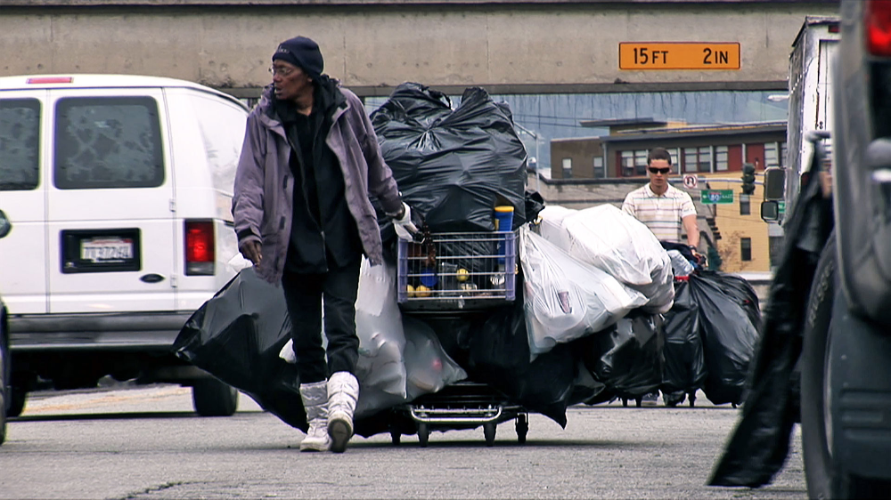 How Homeless People Make Their Livings Redeeming Recyclables Independent Lens Blog Pbs Homeless People Homeless Help Homeless People