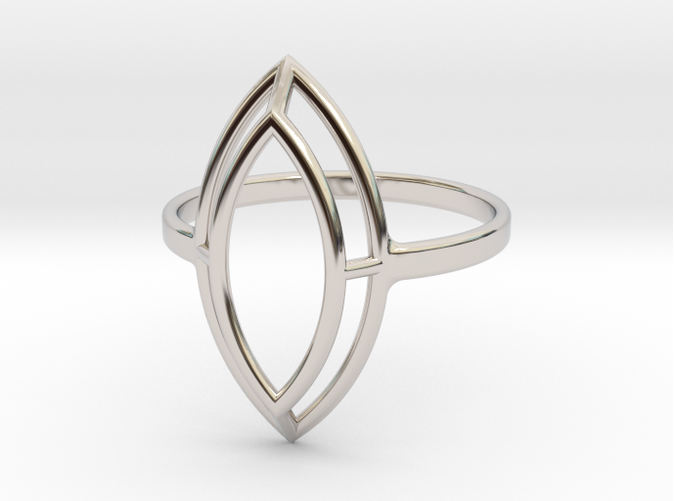 Marquise Simple Wire Ring - US Size 09 | Ring