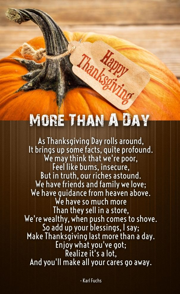 thanksgiving love poem Thanksgiving poems, Thankful