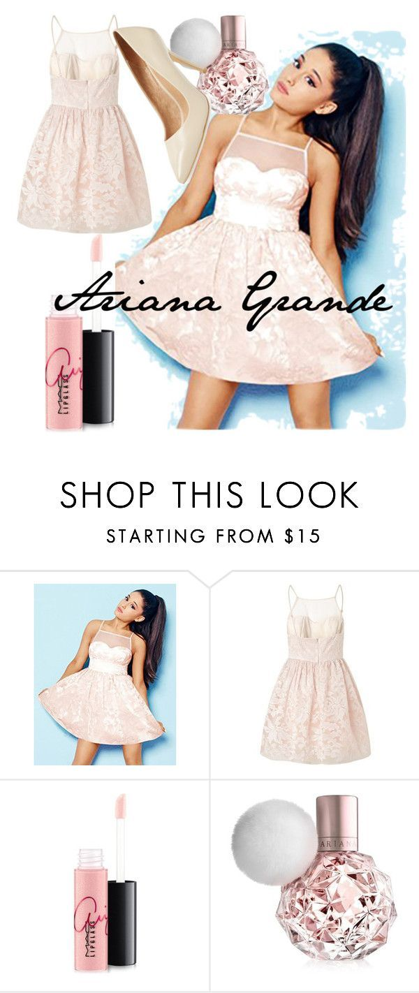 Designer Clothes, Shoes & Bags for Women | SSENSE #starbuckscake Ariana Grande #2 by starbucks-cake ❤ liked on Polyvore featuring Lipsy, MAC Cosmetics and Maiden Lane #starbuckscake