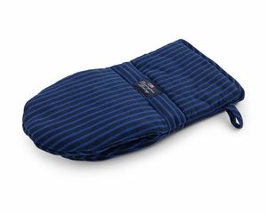 Lexington Company Blue Striped Oven Mitt  | Table + Dine #lexingtoncompany #summer #kitchen #stripes