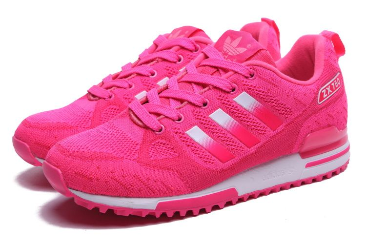 c61a1b3c5072 Spring and Summer 2015 style Adidas ZX750 Women Pink Running Shoes ...