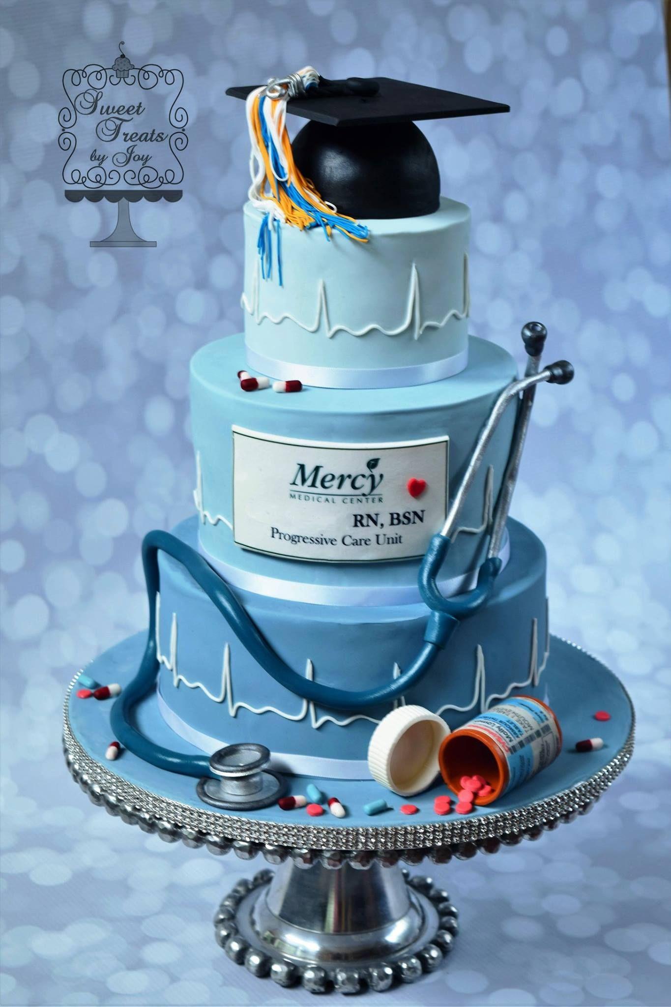 Sweet Treats By Joy Nursing Graduation Cakes Doctor