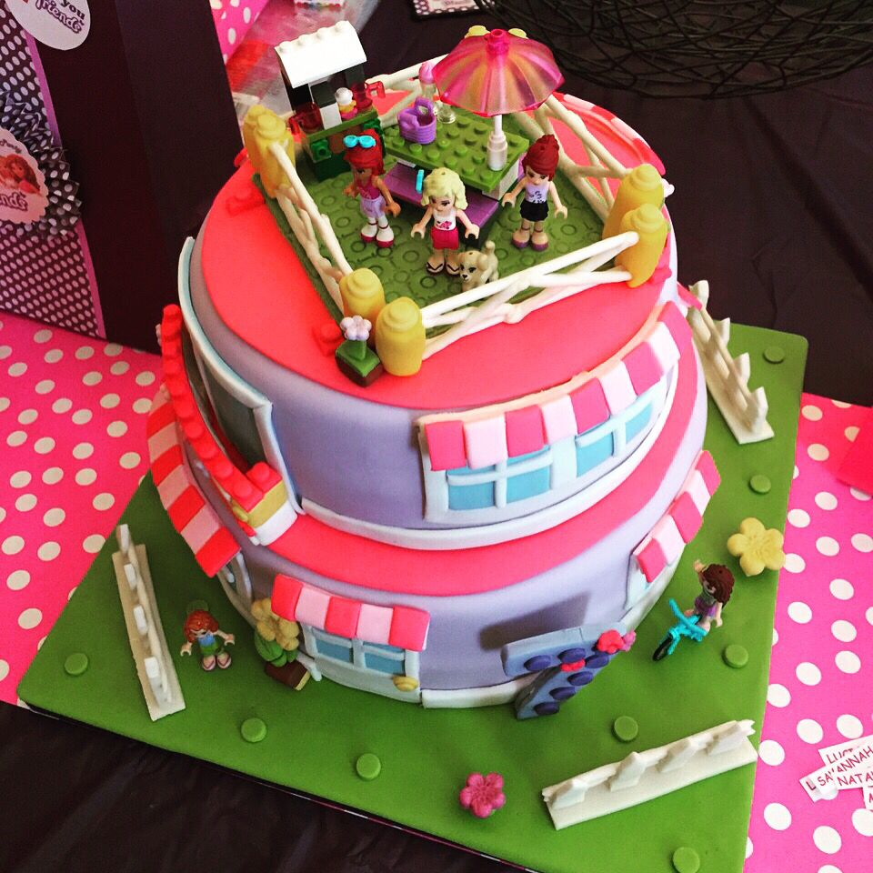 Lego Friends Cake By Ranzacake Katy TX
