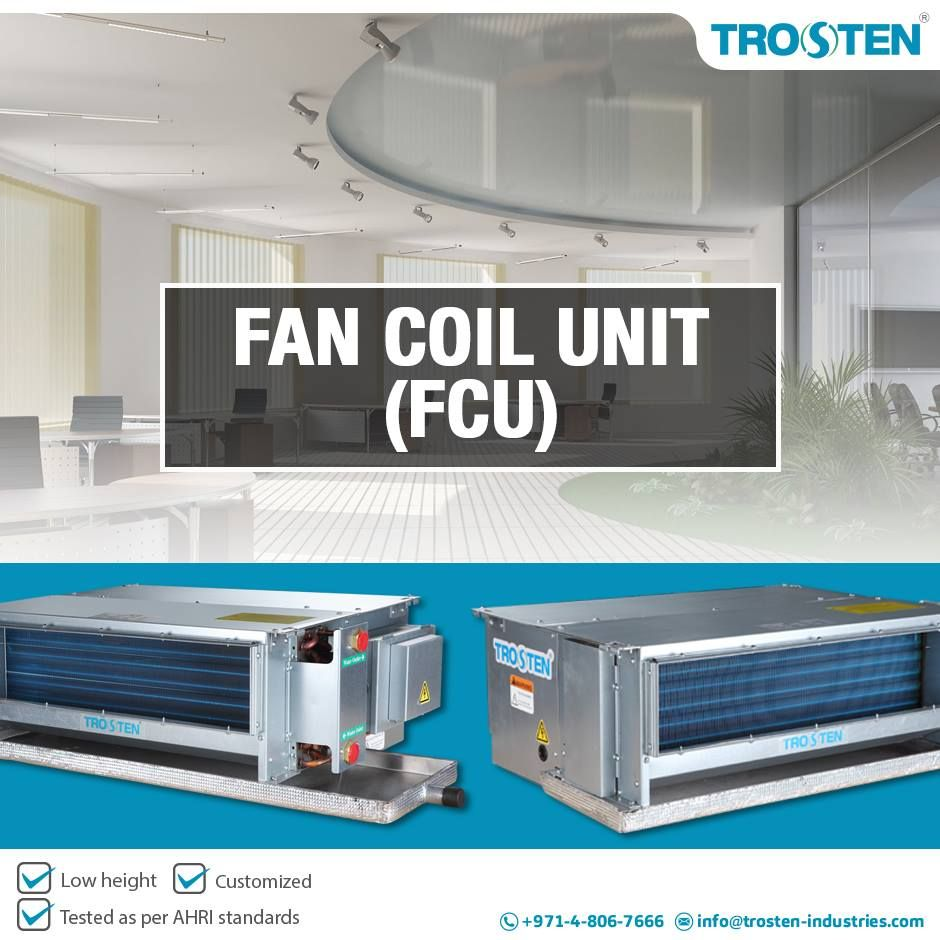 Trosten Industries, a fan coil unit manufacturer company having ...