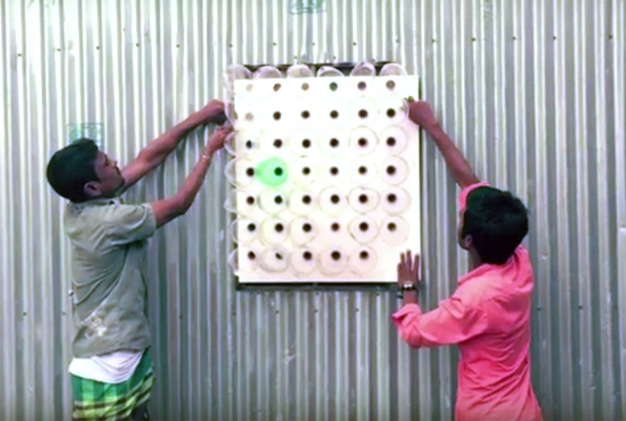 This Amazing Bangladeshi Air Cooler Is Made From Plastic Bottles