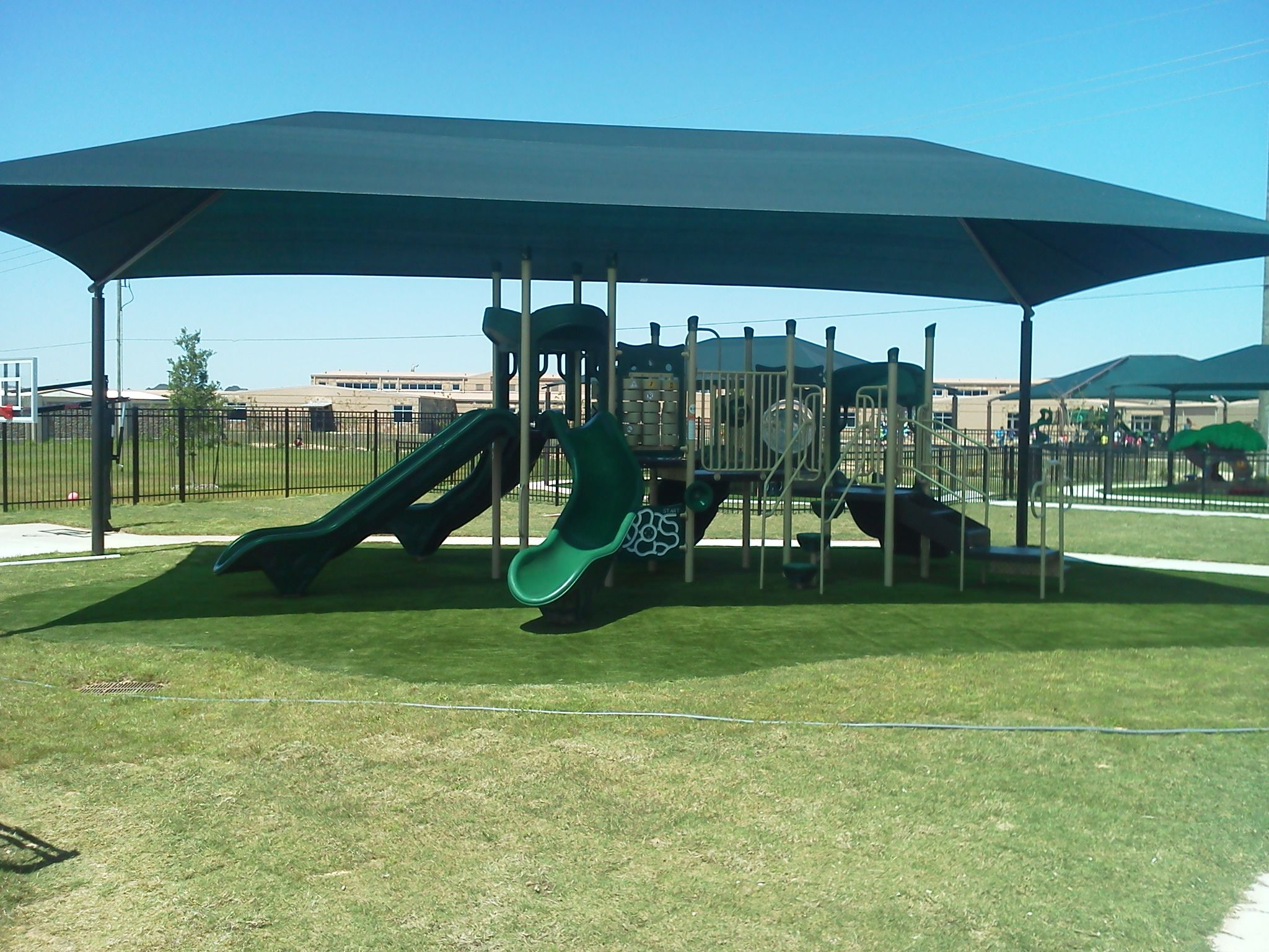 20x36x10 shade cover from dunrite playgrounds httpwww