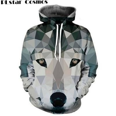 f49e68c1c0a07d PLstar Cosmos Harajuku Wolf Lion Animals 3D All Over Print Men Women Hoodie  Sweatshirt Jumper Fashion unisex Hooded 22 models