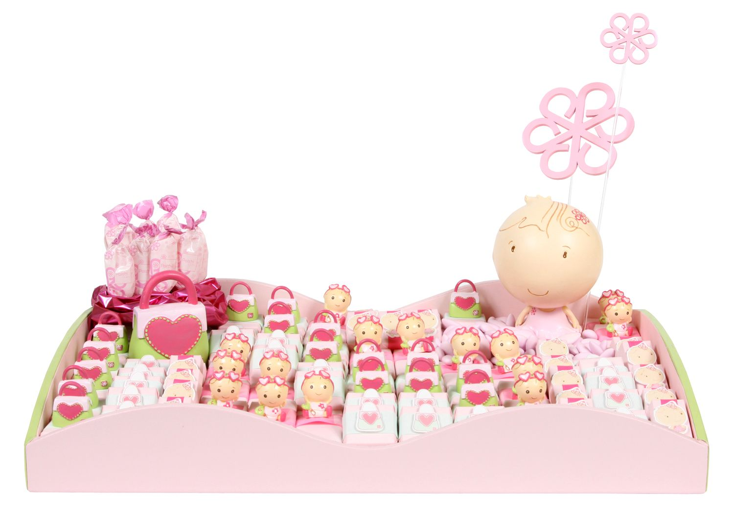 Tray Decoration For Baby Girl Brilliant Patchi's Fashion Guru Chocolate Arrangementso Stylish For A Inspiration Design