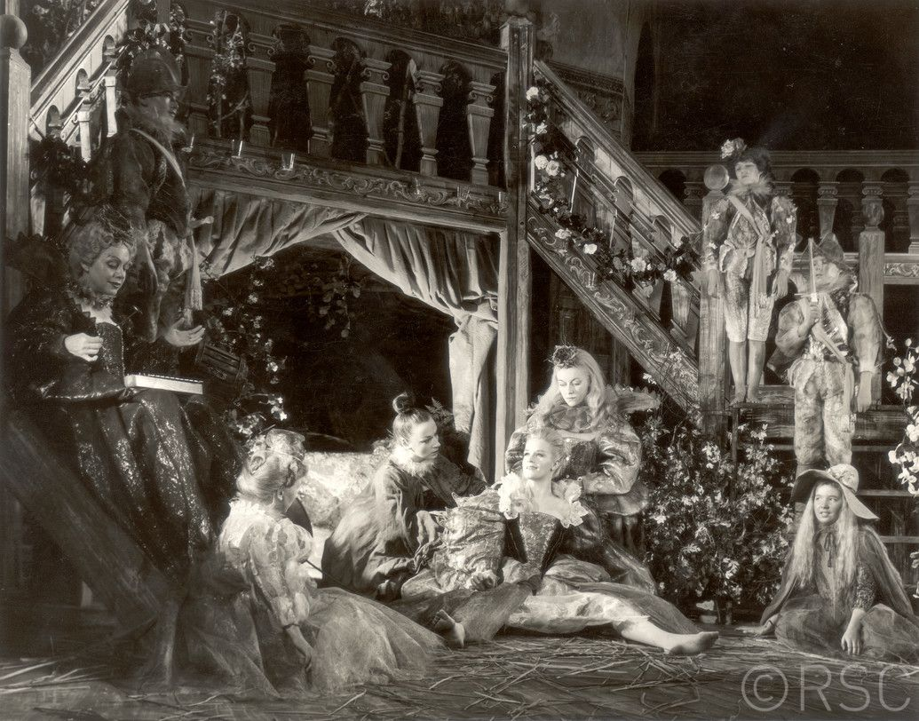 A Midsummer Nights Dream 1959 Directed By Peter Hall Designed Lila De