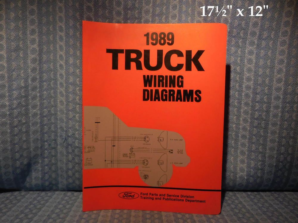 1989 Ford Truck Oem Wiring Diagrams F Series Econoline Bronco Cl 9000 L Series Ford Ford Parts Ford F350 Super Duty