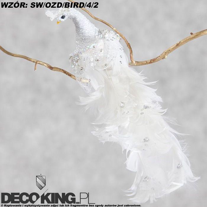 Ptaszki Na Choinke Ozdoby Swiateczne Eurofirany 4790611228 Oficjalne Archiwum Allegro Dove Ornaments Animals Doves