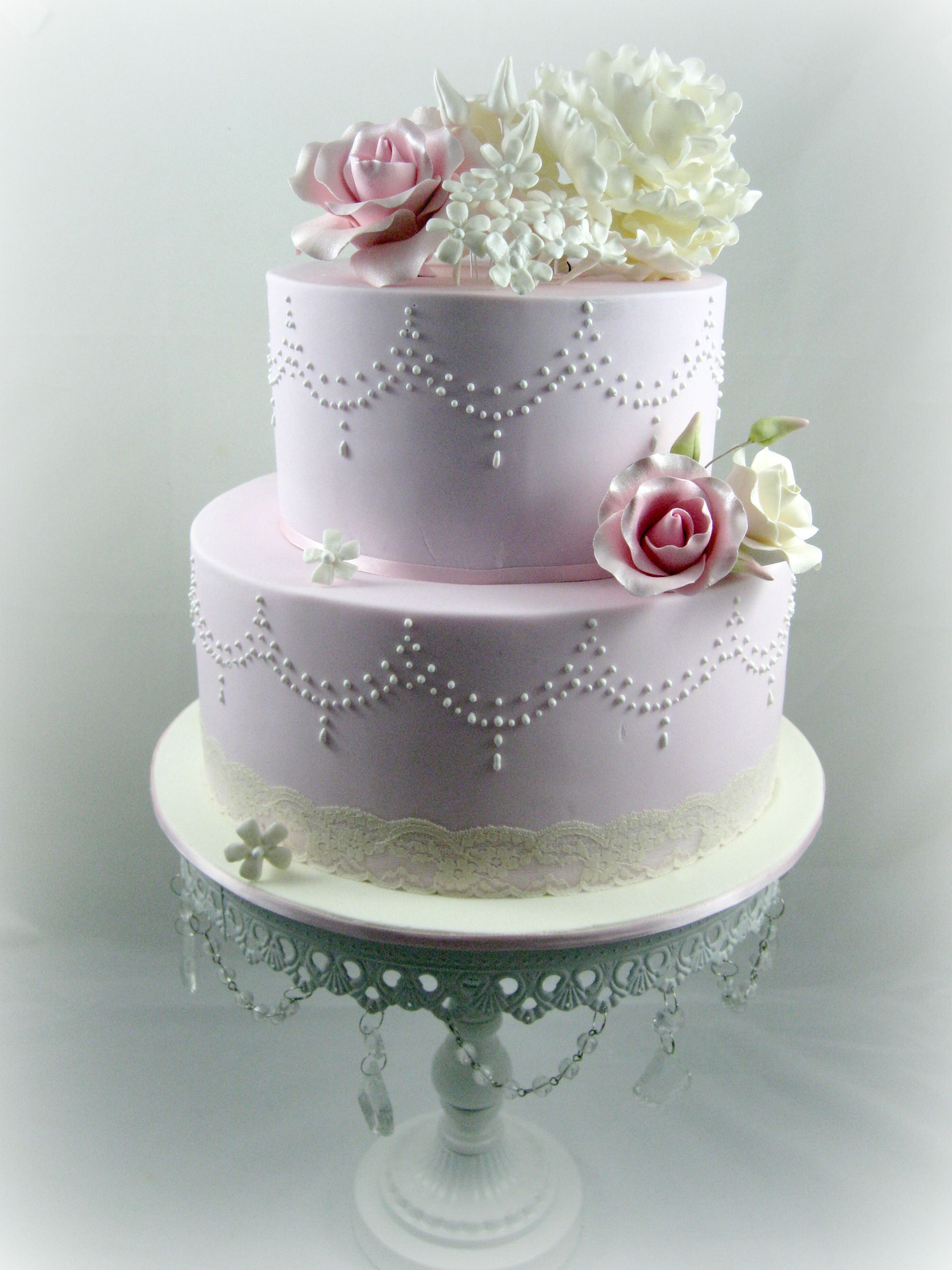 2 tier wedding cakes with flowers cakes for wedding cakes 2 tier garlands amp flowers 10174