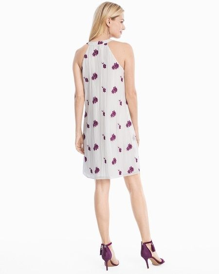 f86067dade9a9 Women's Floral Embroidered Shift Dress by White House Black Market ...