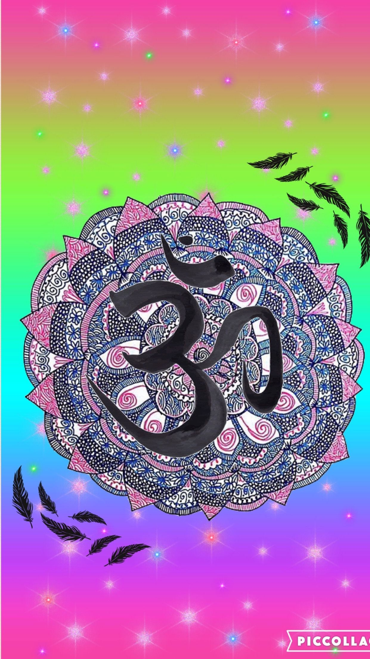 Mandala/hamsa colorful by rose Cool backgrounds