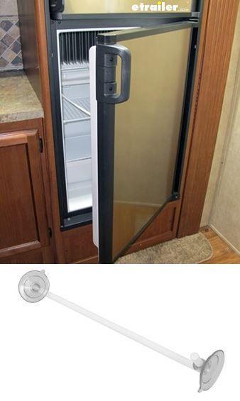 This Door Stop Suctions To Your Camper Refrigerator Door And Inner Wall To  Prop Open And