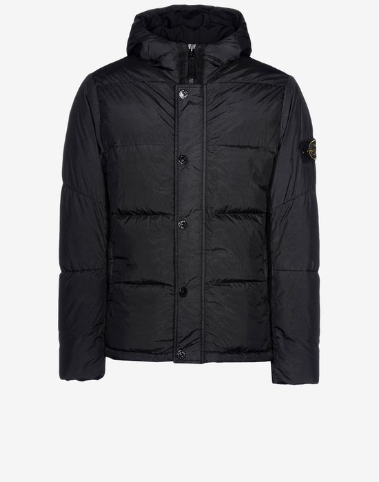 1138461c77c6 40823 GARMENT DYED CRINKLE REPS NY DOWN Down Jacket Stone Island Men -Stone  Island Online Store