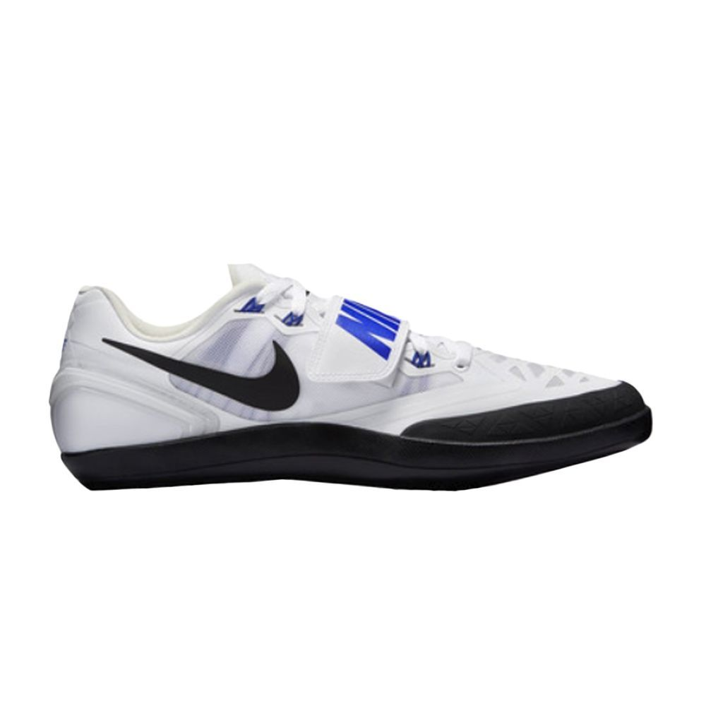 Nike Zoom Rotational 6 Shot Put Discus Throwing White Blue size 8.5 NEW