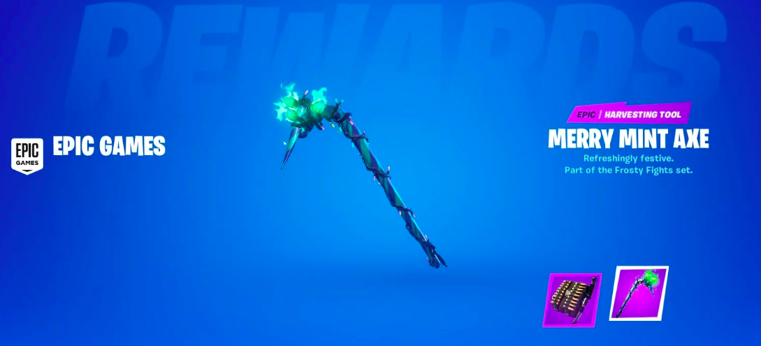 Fortnite Minty Codes How To Get Merry Minty Pickaxe Codes