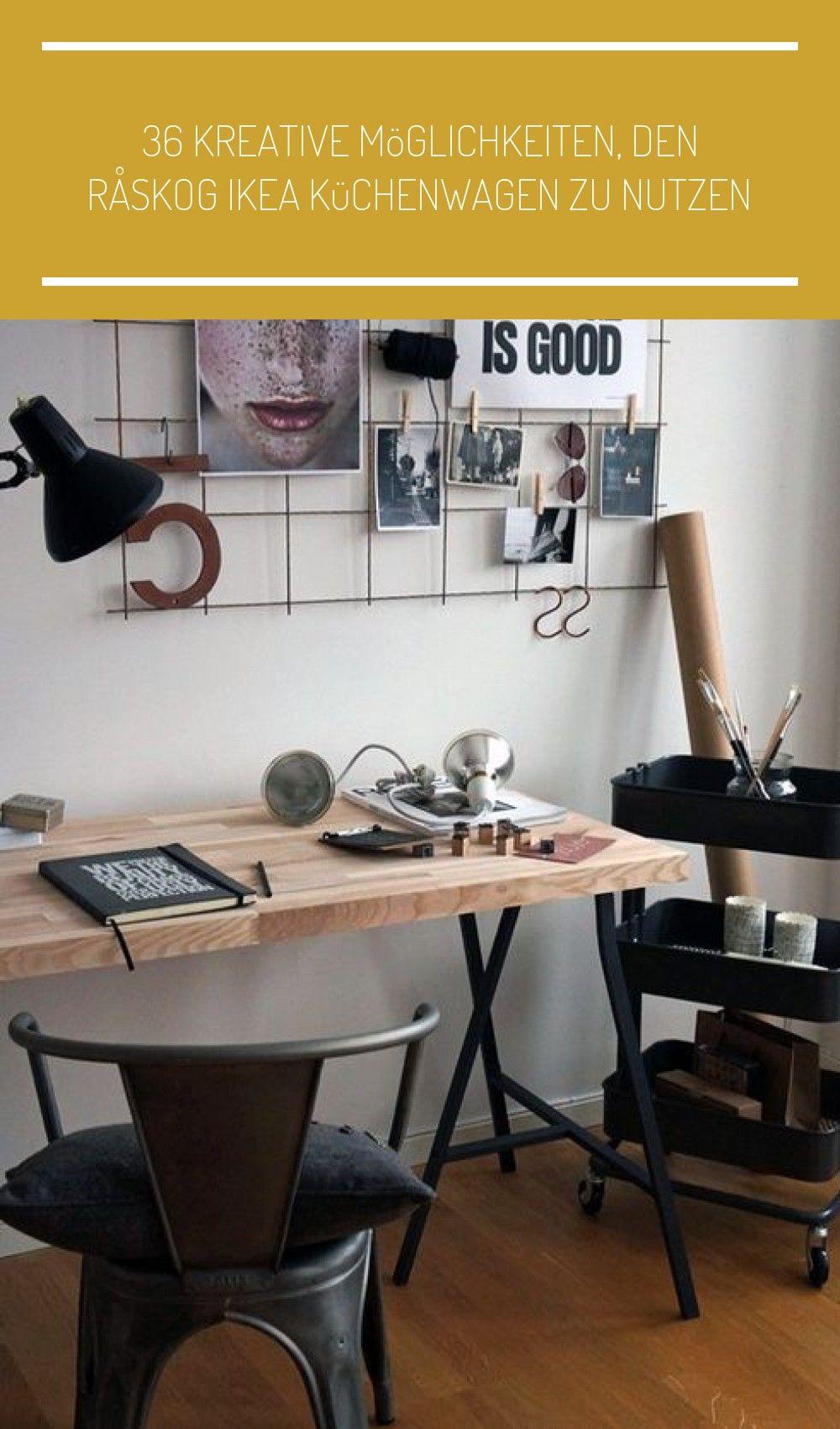 36 Kreative Möglichkeiten, den RÅSKOG Ikea Küchenwagen zu ...