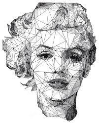 imagenes geometricas abstractas en blanco y negro - Buscar con Google