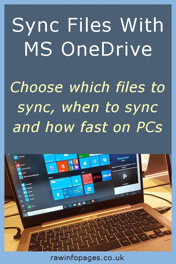 Take control of Microsoft OneDrive sync settings and