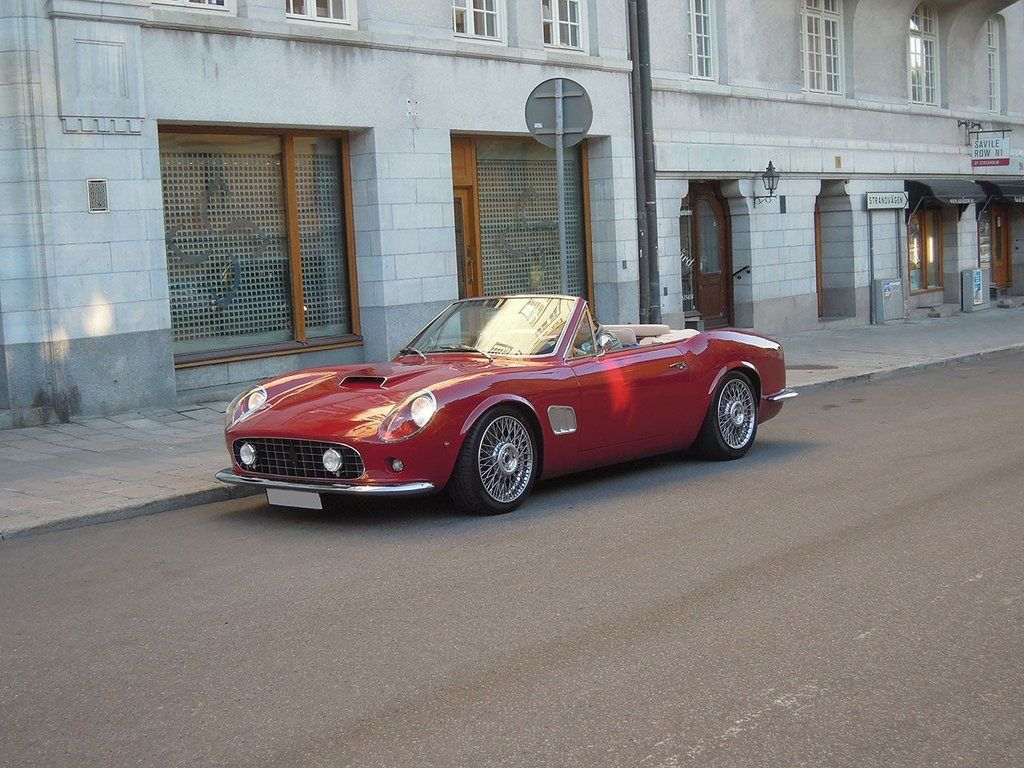 Replica Ferrari 250, donor car is Ferrari California | Classic ...