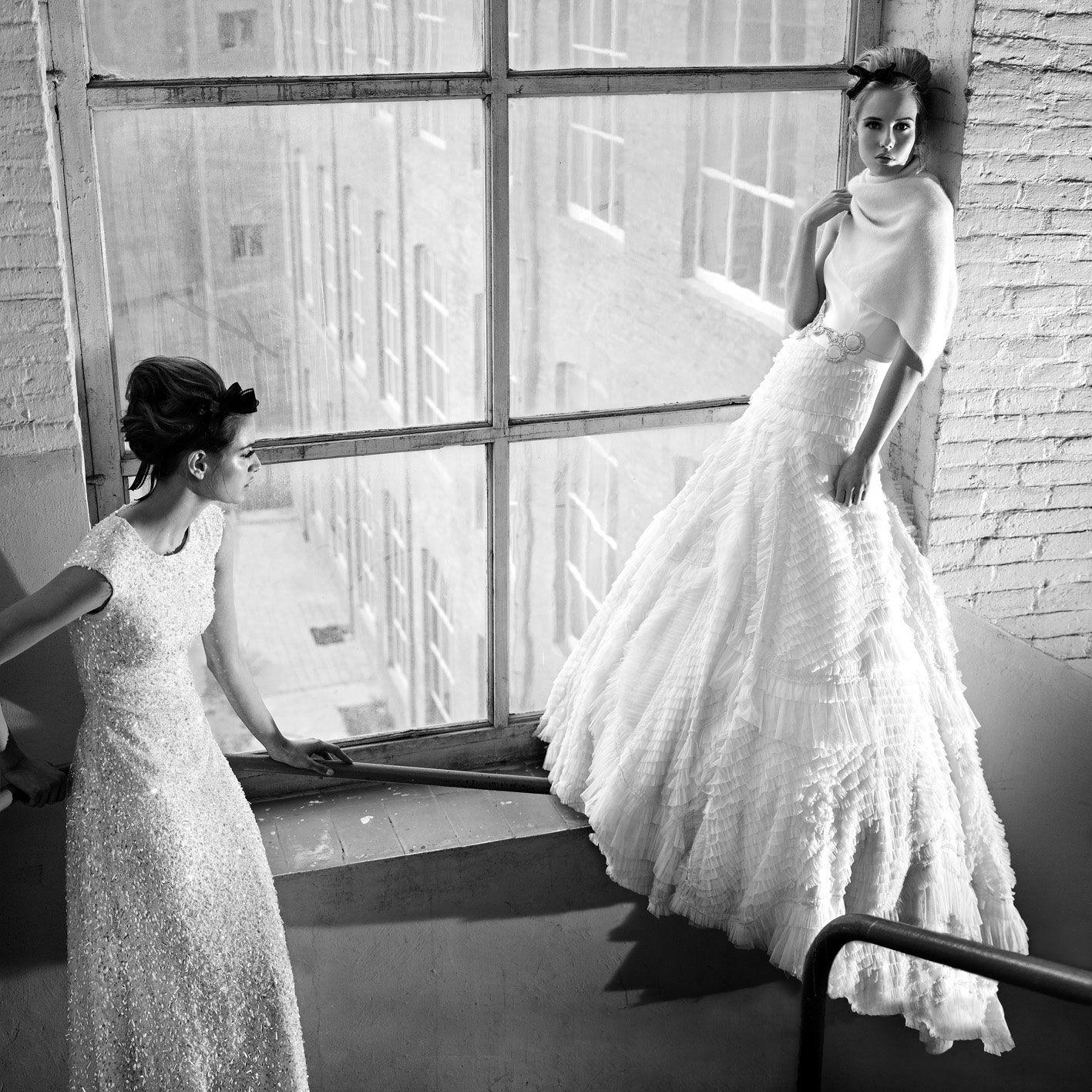 Ad campaign #wedding #dress #Jesus Piero