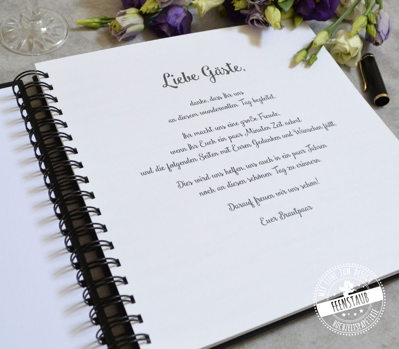 Hochzeit Gastebuch Mit Fragen In 2020 Gastebuch Hochzeit Gastebuch Hochzeit Mit Fragen Und Spruch Gastebuch Hochzeit