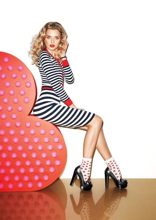 Lily Donaldson by Terry Richardson for Aldo F/W 2011-12 campaign.