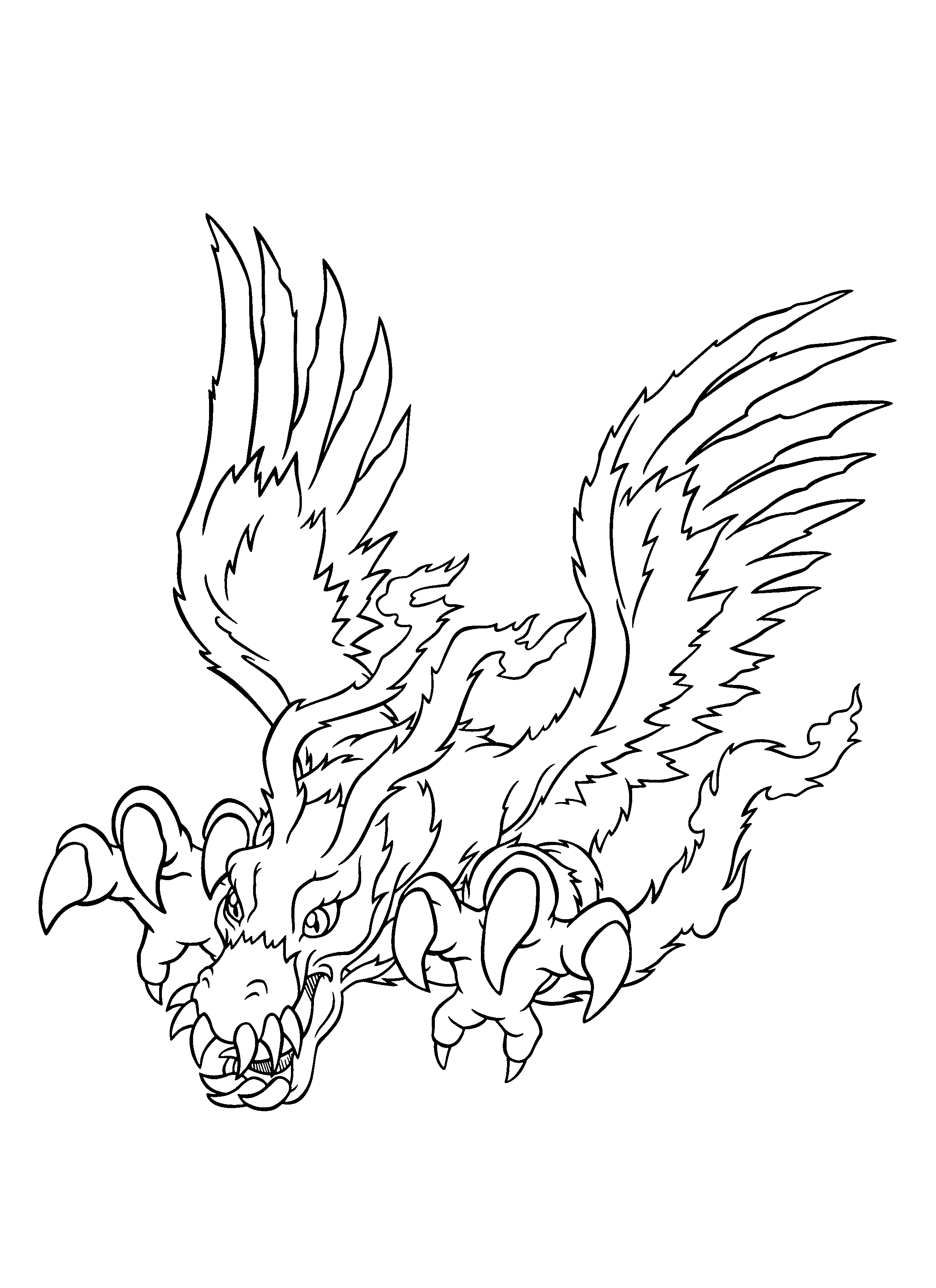 coloring page digimon coloring pages 241