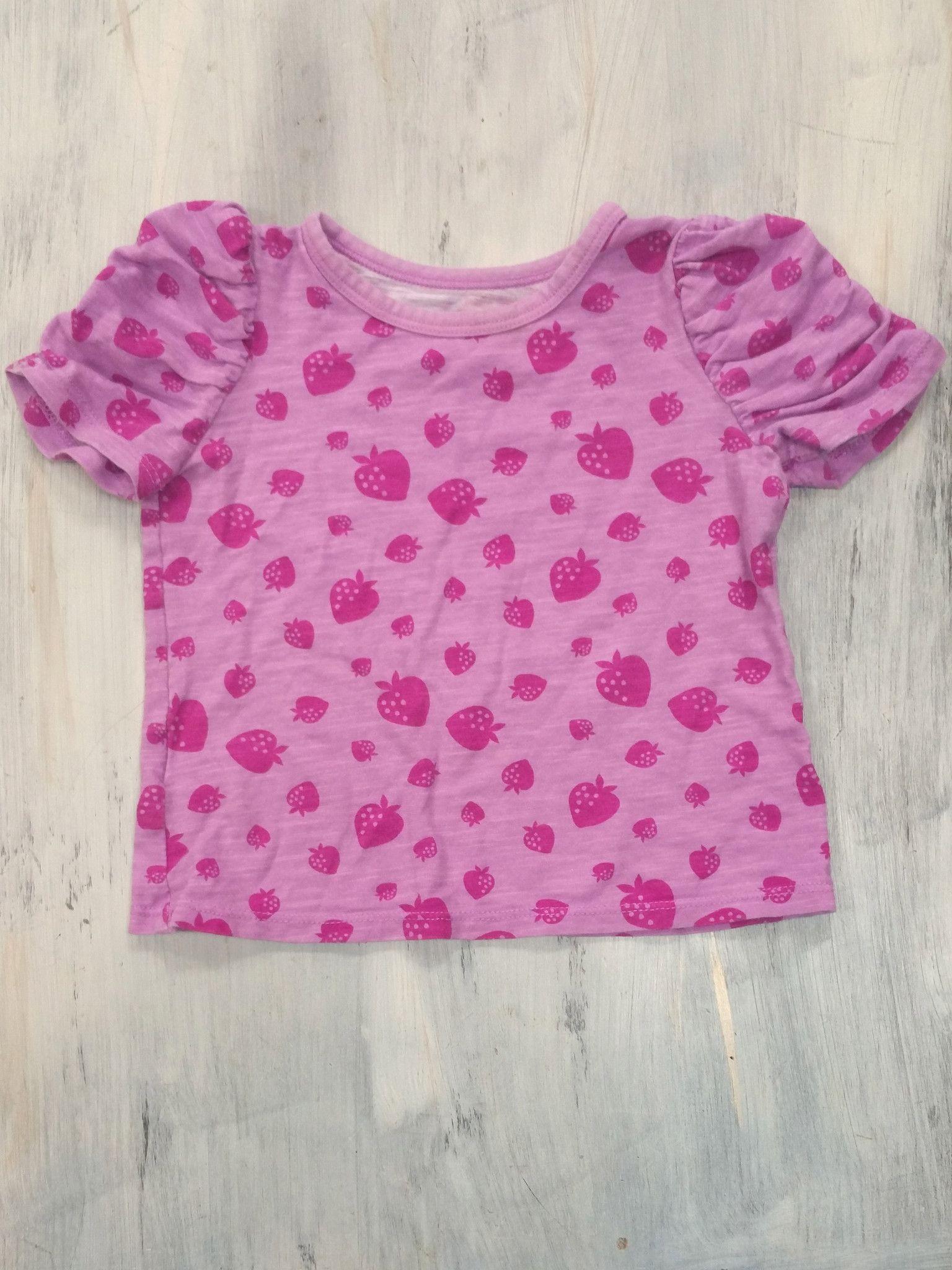 Okie Dokie Strawberry T-Shirt - 18-24M