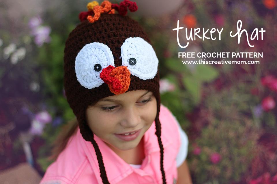 Turkey Hat -Free crochet pattern | Crocheting hats | Pinterest ...