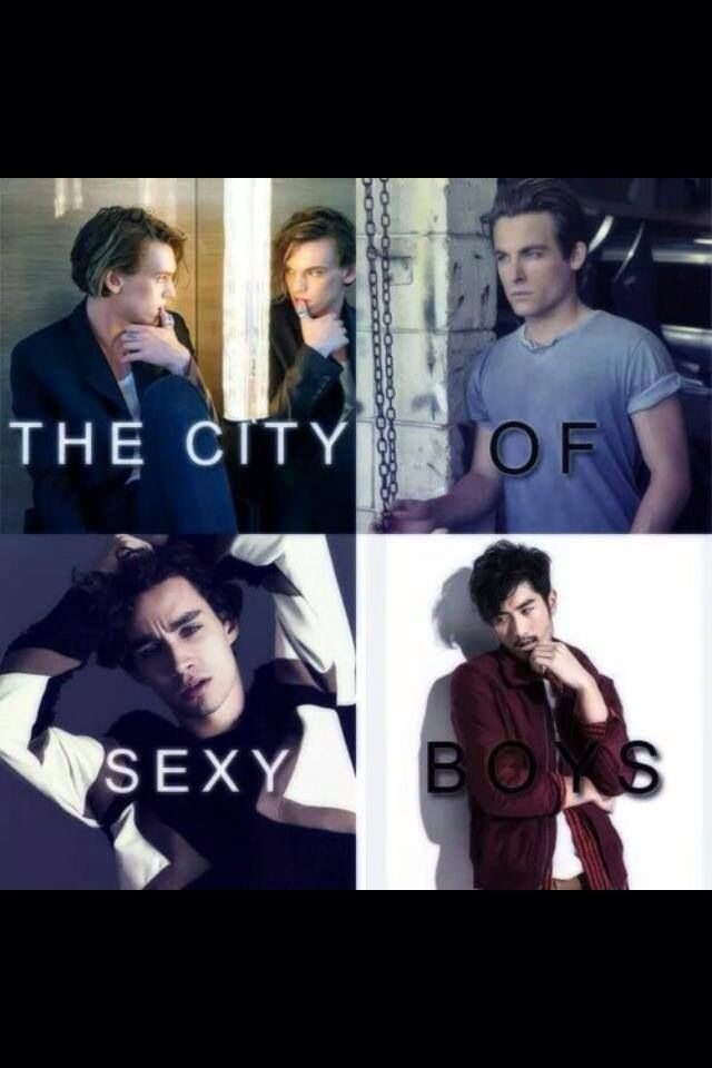 Sexy <3 city of bones - The Mortal Instruments - Magnus bane - Simon Lewis - Alec lightwood - Jace Wayland (herondale/lightwood/ morgenstern) <3