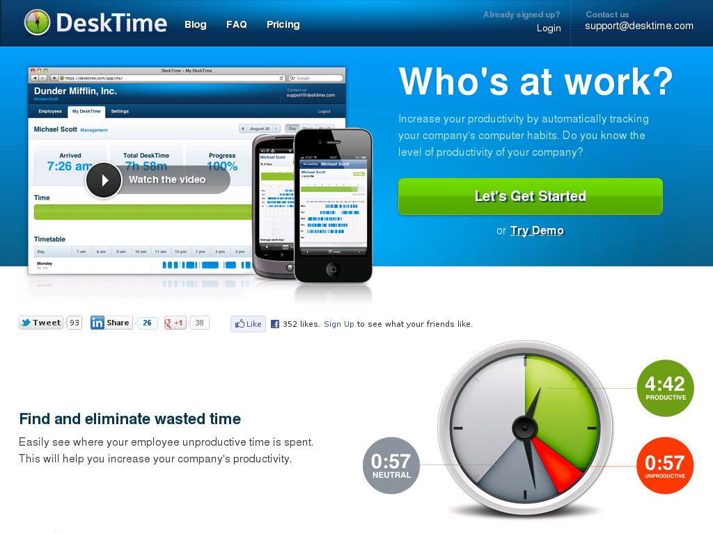keep track of hours worked online
